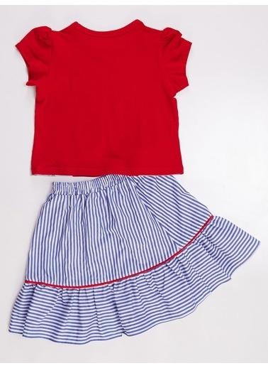 Denokids Unique Power Kız Etek Takım Renkli